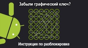 Как разблокировать планшет